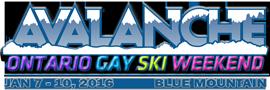 Avalanche Ontario Gay Ski Weeekend Logo
